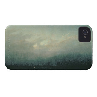 Monk by sea, 1809 iPhone 4 case