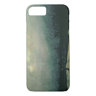 Monk by sea, 1809 iPhone 7 case