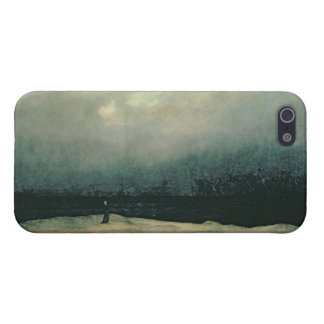 Monk by sea, 1809 iPhone 5 covers