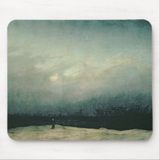 Monk by sea, 1809 mouse pad