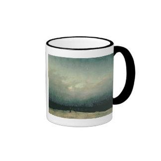 Monk by sea, 1809 ringer mug