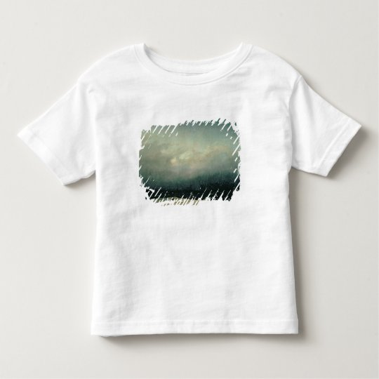 Monk by sea, 1809 toddler t-shirt