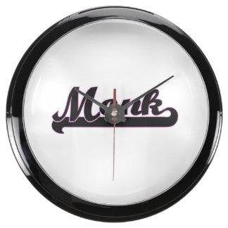 Monk Classic Job Design Aquavista Clock