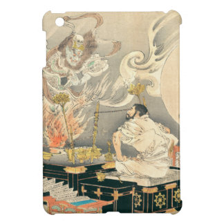 Monk Confronting A Demon Cover For The iPad Mini