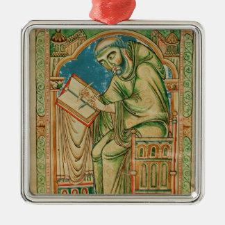 Monk Eadwine at work on the manuscript, Metal Ornament