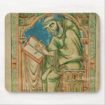 Monk Eadwine at work on the manuscript, Mouse Pad