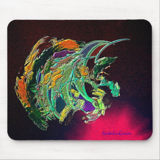 Monk Fish Mouse Pad