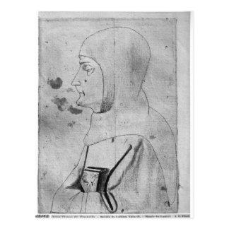 Monk, from the The Vallardi Album Postcard
