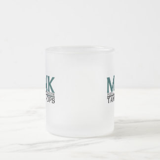Monk Frosted Glass Coffee Mug