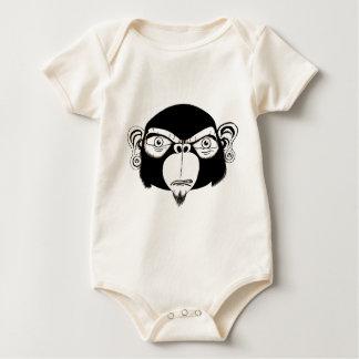Monk Head Original Baby Bodysuit