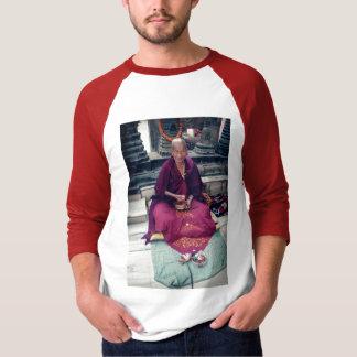 Monk in Bodh Gaya T-shirt