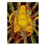 Monk in Meditation Postcard