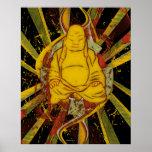 Monk in Meditation Print