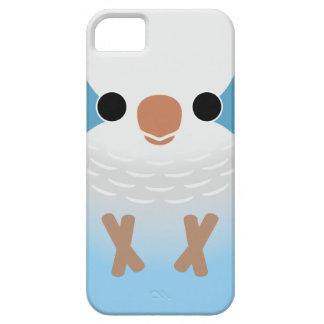 Monk Parakeet (Blue) iPhone 5 Cases