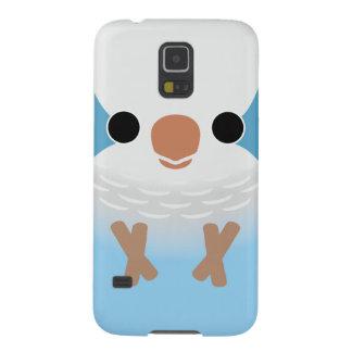 Monk Parakeet (Blue) Case For Galaxy S5