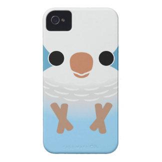 Monk Parakeet (Blue) iPhone 4 Case