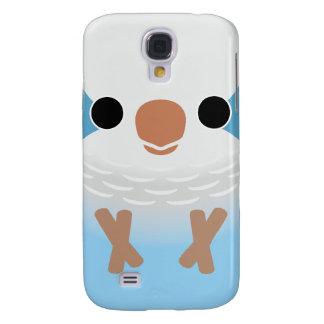 Monk Parakeet (Blue) Galaxy S4 Covers