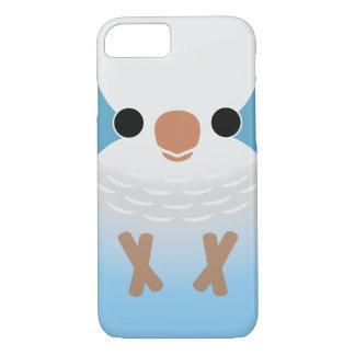 Monk Parakeet (Blue) iPhone 7 Case
