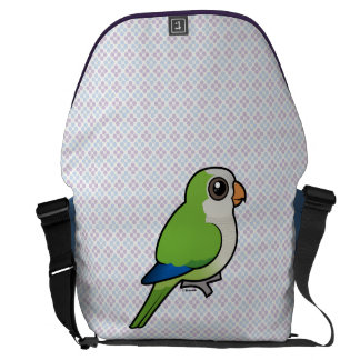 Monk Parakeet Courier Bags