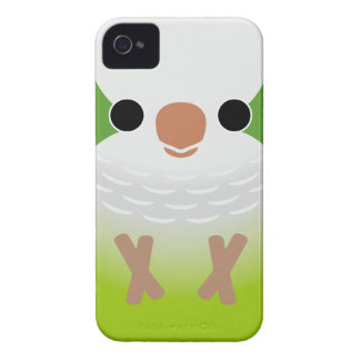 Monk Parakeet iPhone 4 Cover