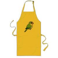 Birdorable Monk Parakeet Long Apron