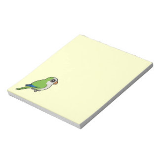 Monk Parakeet Memo Note Pads