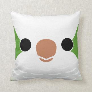Monk Parakeet Pillow