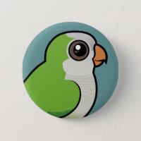 Birdorable Monk Parakeet Round Button