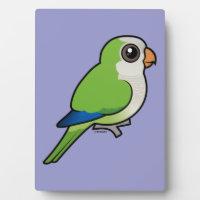 Birdorable Monk Parakeet Photo Plaque 5