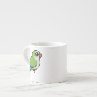Monk Parakeet 6 Oz Ceramic Espresso Cup