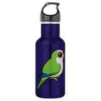 Birdorable Monk Parakeet Water Bottle (24 oz)