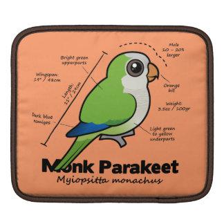 Monk Parakeet Statistics Sleeve For iPads