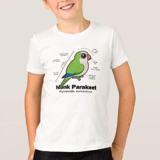 Monk Parakeet Statistics T-Shirt