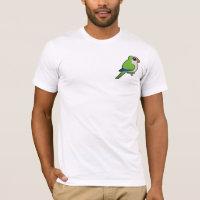 Birdorable Monk Parakeet Men's Basic American Apparel T-Shirt