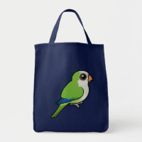Birdorable Monk Parakeet Grocery Tote