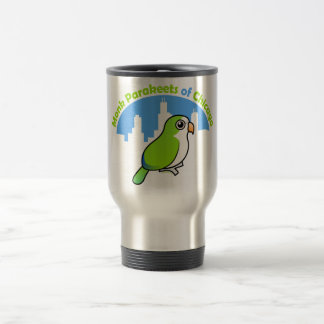 Monk Parakeets of Chicago Mugs