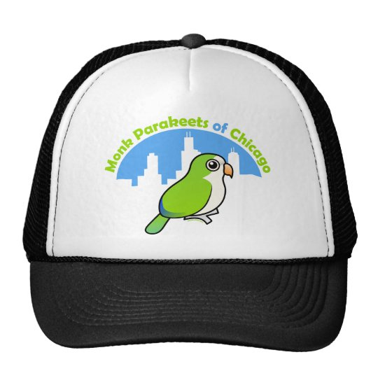 Monk Parakeets of Chicago Trucker Hat