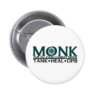 Monk Pinback Button