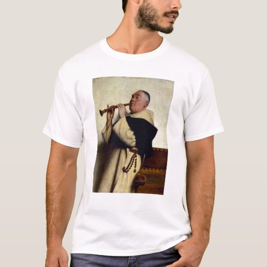 Monk Playing a Clarinet T-Shirt