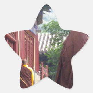 Monk Star Sticker