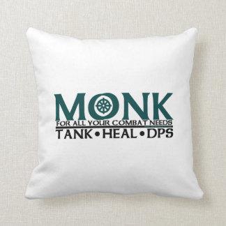 Monk Throw Pillow