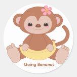 monkey2, Going Bananas Sticker