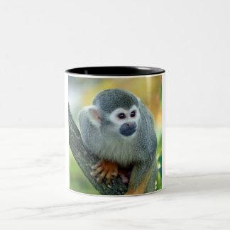 Monkey 004 Two-Tone coffee mug