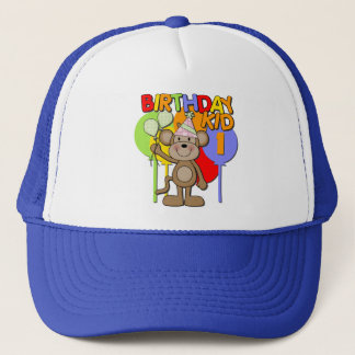 Monkey 1st Birthday Trucker Hat