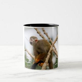 Monkey_2014_1201 Two-Tone Coffee Mug
