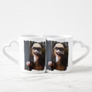 monkey-245.jpg couples' coffee mug set