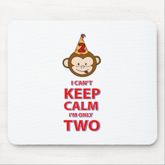 Monkey 2 year old designs mouse pad