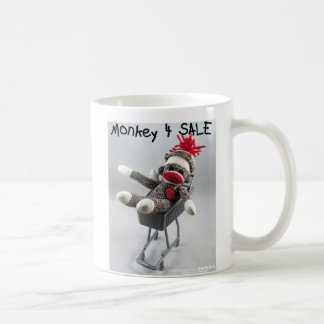Monkey 4 Sale (by kolohe Kristin) Mug