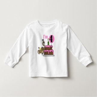 Monkey 4th Birthday Tshirts and Gifts