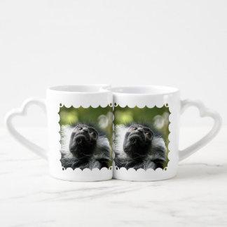 monkey-52 couples' coffee mug set